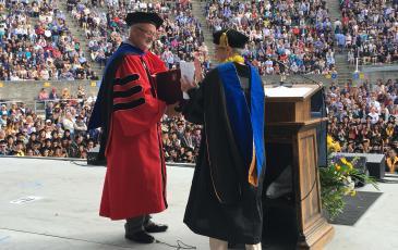 Elisabeth Sadoulet receives CNR Distinguished Teaching Award